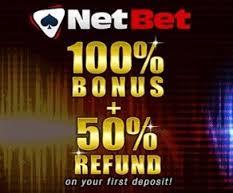 100% slots bonus at netbet